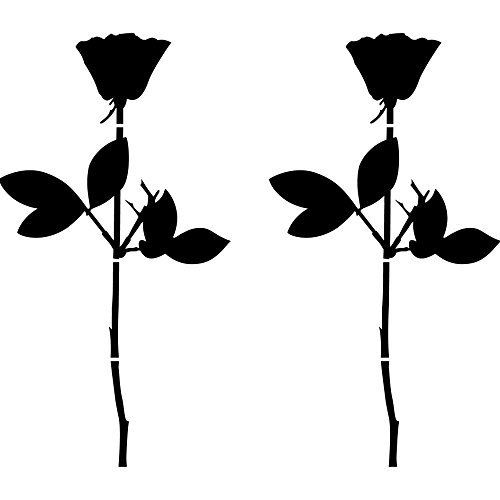 rose-20cm-auto-fenster-spiegel-aufkleber-tattoo-die-cut-decals-vinyl-selbstklebende-deko-folie-depec