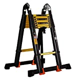 Yuzhonghua Il Portatile Pedale Skid Scala di Estensione scaletta ingegneria Leggera carico Scala Portatile Portatile 150kg 2.5 + 2.5m