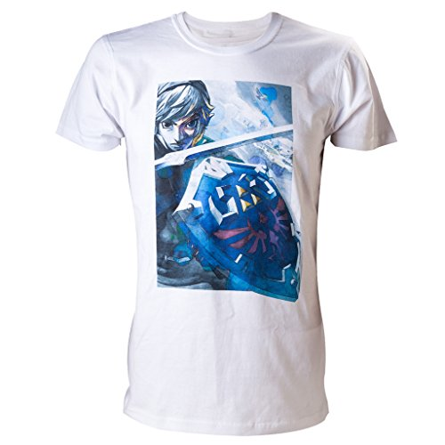 Preisvergleich Produktbild Zelda T-Shirt -M- Link, weiss