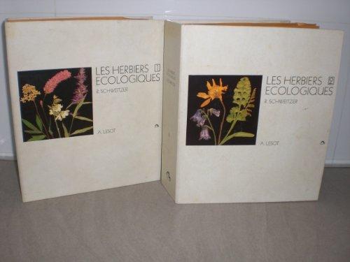 Les Herbiers écologiques par René Schweitzer