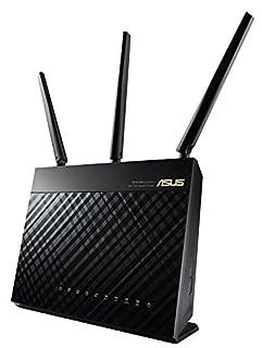 ASUS RT-AC68U Dual-Band Wireless-AC 1900 Gigabit Router (USB 3.0 SharePort, IEEE 802.11ac, IEEE 802.11a/b/g/n) (B00G323PG0) | Amazon price tracker / tracking, Amazon price history charts, Amazon price watches, Amazon price drop alerts