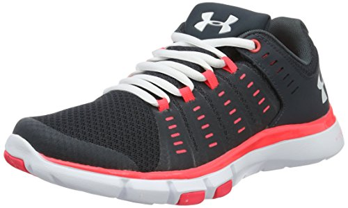 Under Armour Micro G Limitless Training 2, Scarpe Sportive Indoor Donna, Grigio (Stealth Gray), 38 EU
