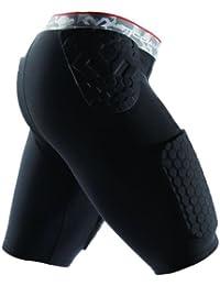 McDavid pantalon de compression court en s à xXL-noir-paDS-respirant avec technologie steißbeinpolsterung & latex-idéal pour le basketball, handball, rugby/hockey sur glace, le snowboard, le ski & optimale pour compression pour homme