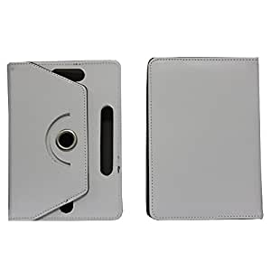Jo Jo Rotating Flip Flap Case Cover Pouch Carry For Hp Slate 7 White