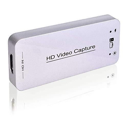 DIGITNOW! Dongle de Captura de Video HDMI USB 3.0 y Dispositivo de Tarjeta HDMI Dongle Full HD 1080P Video Audio HDMI to USB Converter Converter para Windows Linux Sistema Os X