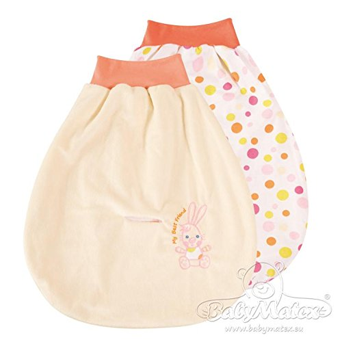 Baby Matex Baby Pucksack/Schlafsack/Autositz Strampelsack - verschiedene Farben ecru/beige