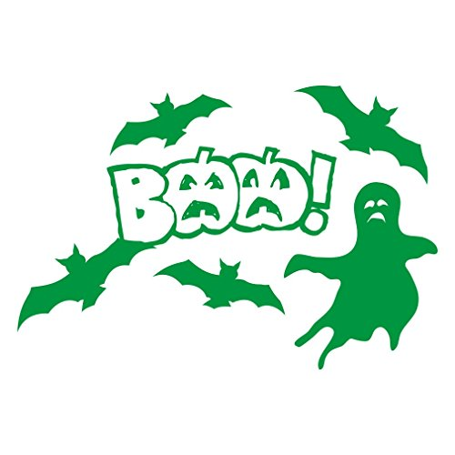 ber Halloween decorations, BAA! (Dark Green) ()