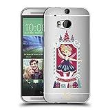 Head Case Designs Suesse Feen Pflaume Nussknacker Weihnachten Soft Gel Hülle für HTC One M8 / M8 Dual SIM