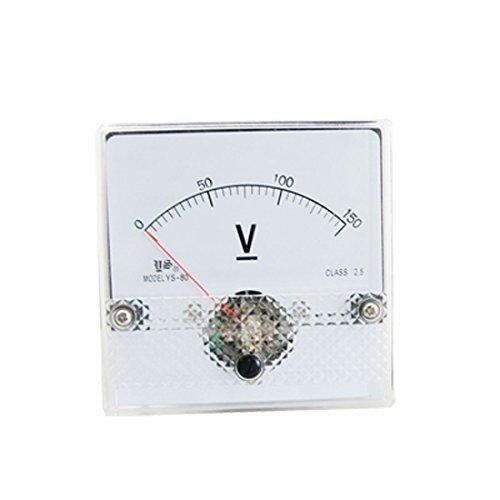 DC 0-150V vierkante analoge voltmeter panel meter Meter -
