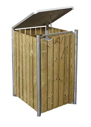 Mülltonnenbox für 240 Liter Tonnen - 3