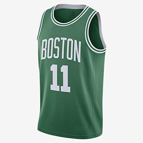 CRBsports Kyrie Irving, Baloncesto Jersey, Celtics, Tejido Bordado, Swag, Ropa Deportiva (Verde, S)