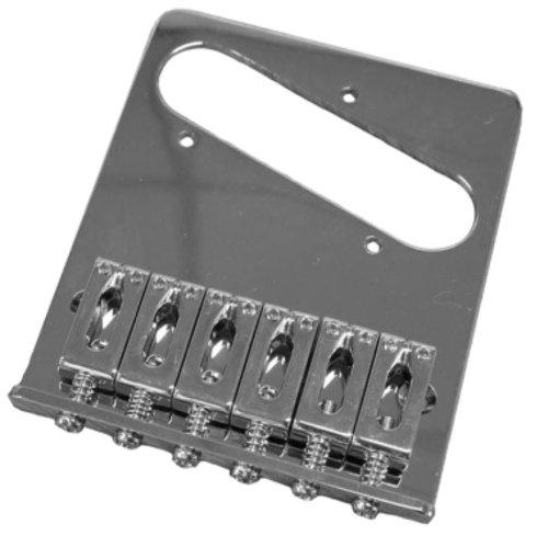 Fender 005-3354-000 Standard Series Telecaster Bridge Assembly, Chrome