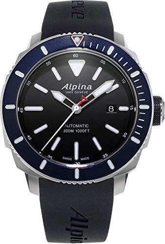 Alpina Geneve SEASTRONG DIVER 300 AL-525LBN4V6 Reloj Cassa solida