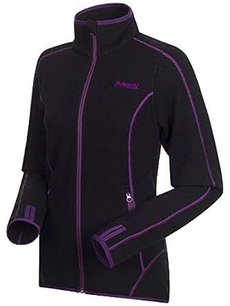 Bergans - Einer Lady Jacket - Veste en laine - taille M, noir/ amethyst