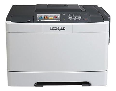 Lexmark CS510DE Imprimante laser couleur, 1200 dpi, USB 2.0 Graphite/blanc