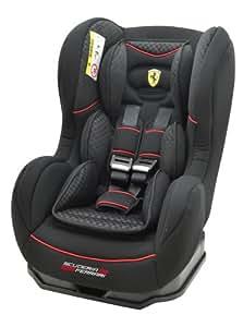 Ferrari 101-117-156 Cosmo SP Isofix Gran Tourismo Siège auto pour enfant Groupe ECE 1 Noir 9-18kg