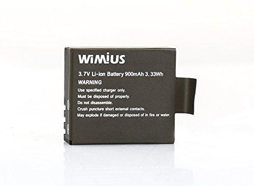 WiMiUS q1Batterie Li-Ion de lithium rechargeable 900mA/h