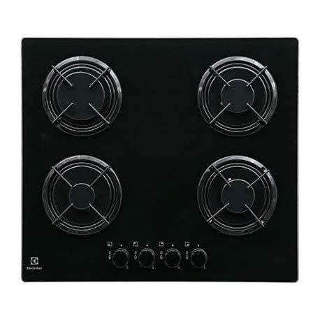Electrolux EGT6242NVK Intégré Gaz Noir plaque - plaques (Intégré, Gaz, Noir, Rotatif, En haut devant)