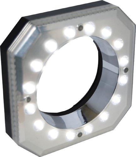 POLAROID ANILLO DE LUZ CON 16 LED MACRO DIGITAL PARA CAMARAS DIGITALES SLR CANON EOS  NIKON  SONY ALPHA  OLYMPUS Y PENTAX (INCLUYE ADAPTADORES DE 49/52/55/58/62/67/72 MM)