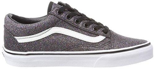 Old Glitter Sneaker Skool Damen Schwarz Vans TwqUvP8U
