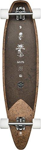 Globe Pinner Evo, Longboard Unisex – Adulto, Marrone, 40
