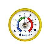 Thermometerwelt Thermometerset 3 Stück Kühlschrankthermometer . Kunststoff in Deutschland Farben schwarz , rot , gelb 4955 - 5