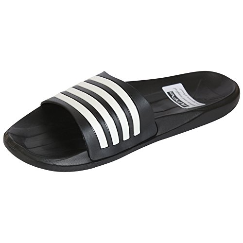 Appe-Mens-Adobo-Casual-Black-White-Stylish-Slippers