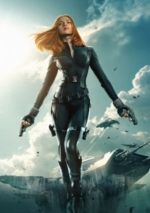 CAPTAIN AMERICA 2 THE WINTER SOLDIER - BLACK WIDOW - Imported Movie Wall Poster Print - 30CM X 43CM SCARLETT JOHANSSON
