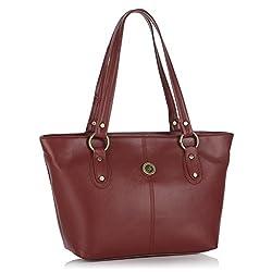 Fostelo Women's Handbag Maroon (FSB-431)