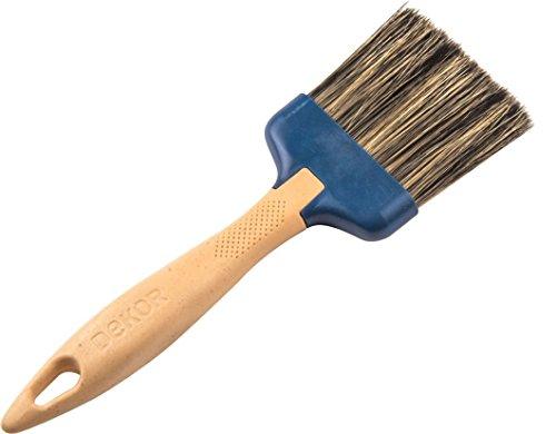 Dekor Profi Maler Flachpinsel Pinsel 20mm/40mm/60mm/80mm/100mm mit langem und kurzem Stiel … (60mm)