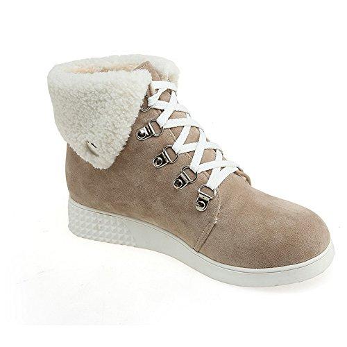 6wxywoqzb Neige Femme De For Chaussures Abricot Bottes Balamasa dwxXtSX