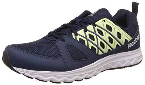 Reebok Men's Run Sharp Coll Navy/Electric Flash Running Shoes - 6 UK/India (39 EU) (7 US)