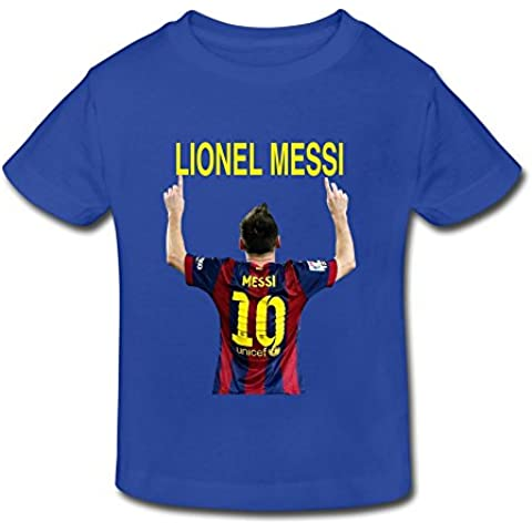 Bless Vanish Lionel Messi NO.10 T-shirts For Toddlers Unisex (2-6 Years)
