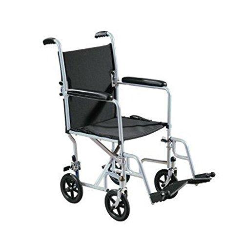 Drive Medical-transport-stuhl (Wrangler TC Transport Stuhl-mit Bein liegt-Stahl Rahmen)