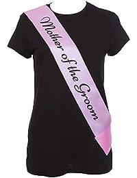 femmes de luxe rose écharpe avec Noir texte élégant enterrement vie jeune fille écharpe pour enterrement vie jeune fille sorties accessoires déguisement - Choisir Style