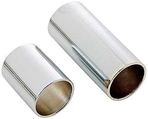 Stagg SGS-M Medium Chromed Steel Slide Set - Silver
