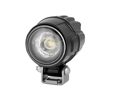 HELLA 1G0 995 050-001, Modul 50, LED Arbeitsscheinwerfer, Nahfeldausleuchtung, 800 Lumen, stehender Anbau, schwarzes Aluminiumdruckgussgehäuse, 12V/ 24V