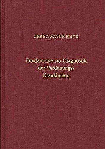 Fundamente zur Diagnostik der Verdauungskrankheiten