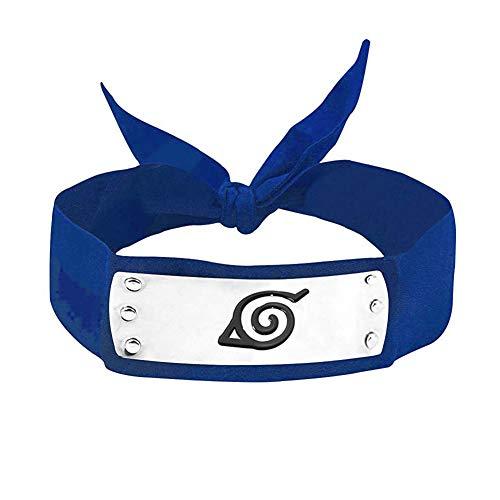 Lackingone Haarreif Naruto Cosplay Ninja Konoha Haarreif blau