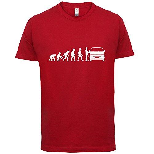 Evolution-of-Man-T4-Campervan-Mens-T-Shirt-13-Colours