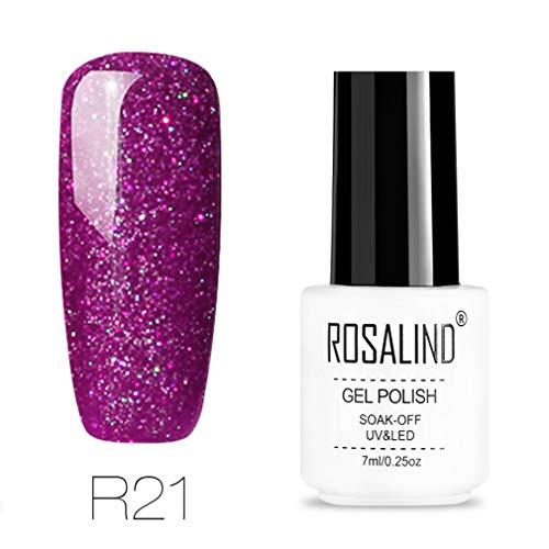 7ml Gel Nail Polish Rainbow Series Soak Off Gel Varnish Semi Permanent UV Gel Lacquer UV LED Primer For Nails Manicure