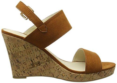 Another Pair of Shoes WandaaK2, Damen Durchgängies Plateau Sandalen Braun (mid brown21)