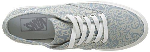 Vans Wm Camden Stripe, Sneakers Basses Femme Bleu (Henna)