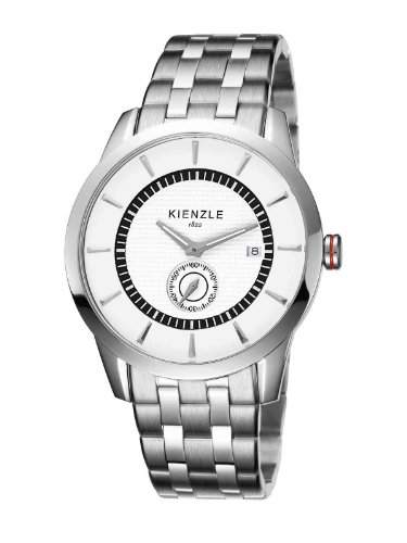 Kienzle Men's Quartz Watch K9041512052-00157 with Metal Strap
