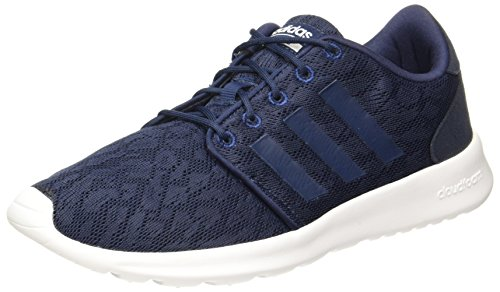 outlet store 39bab 88909 adidas Womens Cf Qt Racer W Fitness Shoes, Blue Collegiate NavyFTWR White,
