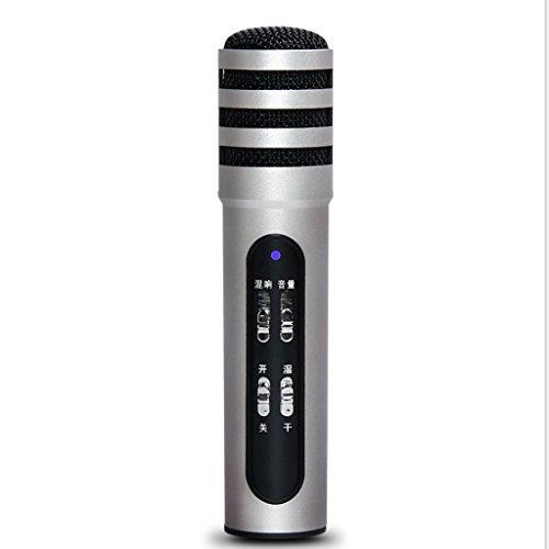 Kaxima Handy-Mikrofone Computer-Netzwerk singen Live-Live-Power Andrews Apple Universal-Mikrofon 210 * 32 * 72mm
