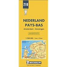 Carte routière : Amsterdam - Groningen, N° 210
