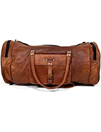 Raw Hide RH401 - Bolsa de viaje  marrón Tan Bown L x B x H - (22 x 9 x 14) inches