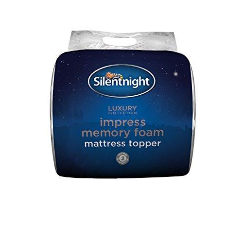 Silentnight Impress 5 cm Memory Foam Mattress Topper, Double 2