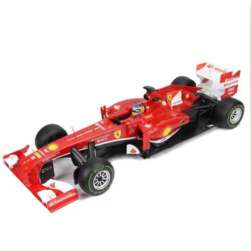 RC Auto kaufen Rennwagen Bild 5: FERRARI F138 - original RC ferngesteuertes Lizenz-Fahrzeug F1 Formel 1 Formula One im Original-Design, Modell-Maßstab 1:18, RTR inkl. Fernsteuerung*